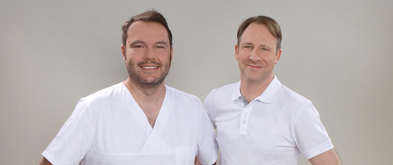 Hans-Martin Karcher, Dr. Veit Klinkenberg, K&K Zahnärzte Bühl und Friesenheim